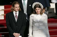 Andrea Casiraghi and Charlotte Casiraghi