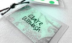 How To Make {Fast, Cheap, Easy} Adorable Bag Tags (from CampClem blog)