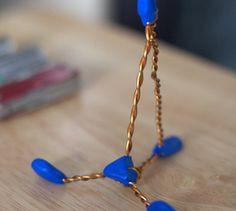 wire + sugru ipad stand