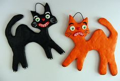Halloween Cats by Seasons Art, via Flickr