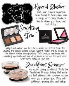 After concealing, Younique offers a wide range to put beautiful,pigmented color…