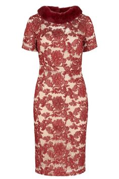 Clare Ruby Lace Dress