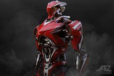 ArtStation - ADVANCED RACER / FRAME/ RED METAL EDITED, Yeong Jin Jeon