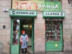 Botiga centanaria i amb encant. C/ Elisabets. Barcelona.