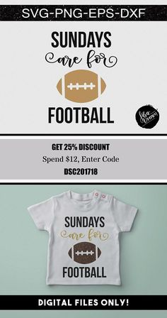 sundays are for football svg file, football dad svg, football love svg, sports svg, clipart, onesie svg, silhouette, cricut, dxf, eps, png #vinyl #cutfile #silhouette #silhouettecameo #etsyseller #etsy #cricut #football #footballmom #etsyfinds #shirts #sundayfunday #crafty #svg