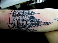 St. Basil's Cathedral Tattoo by Jacob McCallum. Radness