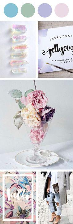 Farbpalette des Sommer - Farbtyps! Kerstin Tomancok Farb-, Typ-, Stil & Imageberatung