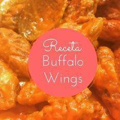 Receta de Buffalo Wings: las alitas de pollo picantes de USA Chiken Wings, Chicken Kitchen, Buffalo Wings, Salsa Buffalo, Kfc, Sauce Recipes, Deli, Curry, Food And Drink