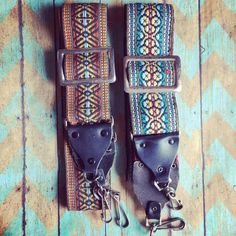 Vintage Tribal Camera Strap by thecuffchic on Etsy