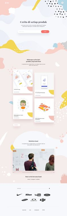 Str Website Layout, Web Layout, Kids Web, Minimal Web Design, Creative Web Design, Graph Design, Web Design Trends, Website Design Inspiration, User Interface Design