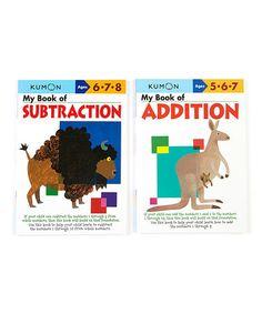 Another great find on #zulily! My Book of Subtraction & Addition Workbook Set #zulilyfinds