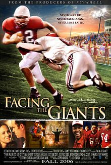 Film chrétien facing the giants. The success of bella and facing the giants shows that this can be done. Facing The Giants, See Movie, Movie Tv, Movies Showing, Movies And Tv Shows, Films Chrétiens, Football Movies, Christian Films, Christian Posters