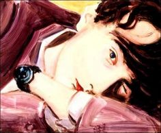Jarvis by Elizabeth Peyton. Would love to be able to get a print of this...