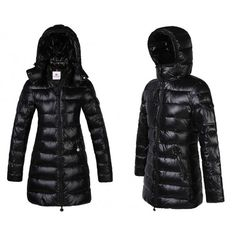 Moncler Cappotti Donna - Nuovo Moncler Puffer Coat Donna Nero