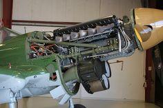 P-40 engine