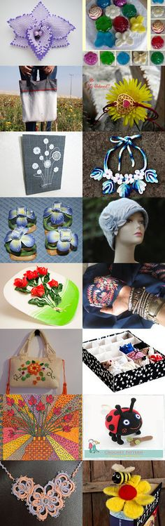 Everyone Loves Flowers! by Yurika on Etsy--Pinned+with+TreasuryPin.com