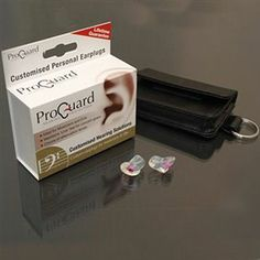 ProGuard Custom Earplugs for musicians & DJs