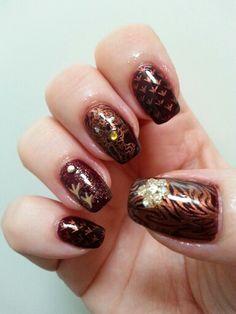 IBD PlumRaven nail art Nail Art 2014, Gel Polish, Nails, Beauty, Finger Nails, Ongles, Gel Nail Varnish, Beauty Illustration, Nail