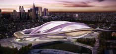 THE FIRST PRIZE, INTERNATIONAL DESIGN COMPETITION FOR NEW NATIONAL STADIUM JAPAN _ Zaha Hadid Architects