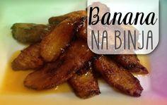 Banana na Binja - Bakbananen die nu eens niet krokant gebakken worden, maar overgoten zijn in een heerlijke saus van bruine suiker, port en kaneel. Het maakt een ideaal toetje en is toch zó klaar. Banana na binja is...