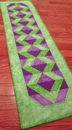 GO! Qube Serenity Table Runner | AccuQuilt : AccuQuilt