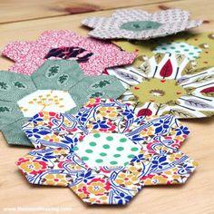 Tutorial: English Paper Piecing, Hexies Part 2   The Zen of Making