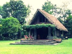 nipa hut or coconut roof, just blissful