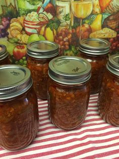 Chile Con Carne (Canning)