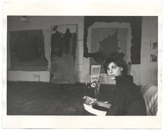 Helen Frankenthaler / she was a major contributor to the history of postwar American painting (1928-2011)