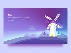 404 Page - Web Design by Laughing Website Design Layout, Web Layout, Layout Design, Banner Design Inspiration, Web Mobile, 404 Pages, Illustration, Web Design Trends, Illustrator Tutorials