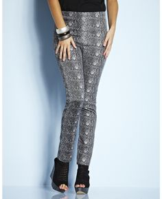 Snake Print Jeggings from Simply Be