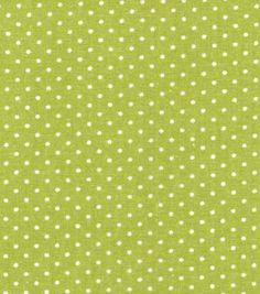 Recuerdo de calicó ™ tela de algodón-Punto Verde