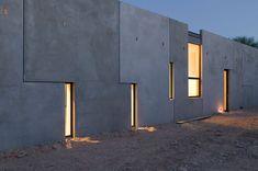 Planar House in Paradise Valley. Arizona. 2005. Steven Holl
