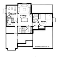 1000 images about stockton home by visbeen associates on for Visbeen architects floor plans