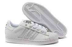 6a18c60a21db9 Adidas Adicolor GS - Chaussure Adidar Pas Cher Pour Femme Enfant Blanc