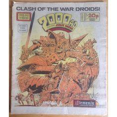 2000 AD #343 19/11/83 UK Paper Sci Fi Comic