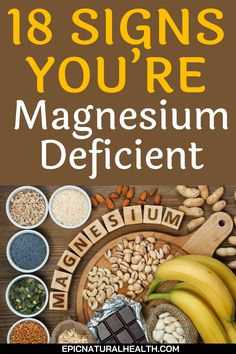 Trying to make sure you're getting enough of every single beneficial vitamin and mineral is a tricky task. Even if you think you eat from a variety of different food groups, it's still easy to become deficient in a particular nutrient that you've managed to miss out on. Magnesium in particular is sometimes hard to get enough of in the average daily diet, which can lead to a number of health problems over time. Natural Health Remedies, Natural Cures, Natural Healing, Cure Diabetes Naturally, Food Groups, Naturopathy, Living A Healthy Life, Health And Beauty Tips, Different Recipes