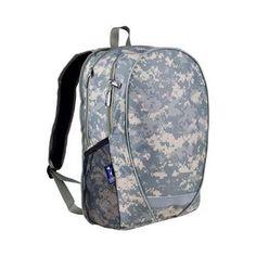 Wildkin Digital Camo Comfortpack Laptop Backpack