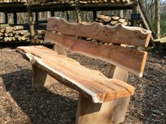 Stunning bench made from English Yew