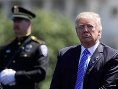 Trump pays tribute to fallen police officers in speech at National Peace Officers' Memorial
