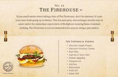 11. The Firehouse Cheeseburger Recipe | 40 Mouth-Watering American Hamburger Recipes Everyone Loves