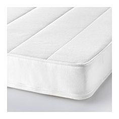 IKEA - VYSSA SKÖNT, Colchón para cuna, , La espuma fría alivia las tensiones y proporciona un buen descanso a tu bebé.La funda se puede lavar a máquina, lo que te ayuda a crear un entorno de descanso higiénico para tus hijos.Funda de punto transpirable, suave y agradable en contacto con la piel de tu bebé.Dos superficies de descanso; doble duración.Un colchón duradero para utilizar durante mucho tiempo.