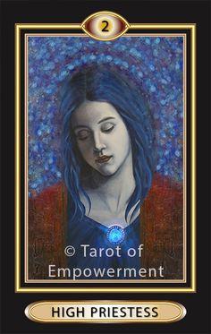 Major Arcana card from the Tarot of Empowerment.