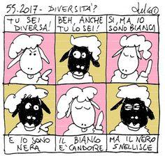 FULVO IL LUPO & Co. - La società animale: 55.2017 - DIVERSITA'?