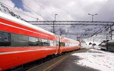 Bergen Railway Between Oslo and Bergen, Norway