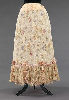 Petticoat  1895-1900  The Metropolitan Museum of Art