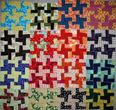 Pinwheel by nifty quilts from Cultural Fusion