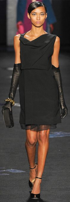 LBD: Diane von Furstenberg Collections Fall Winter 2012-13