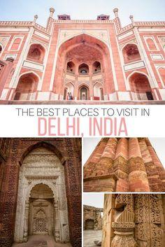 New Delhi, Delhi India, India Travel Guide, Asia Travel, Cool Places To Visit, Places To Travel, Taj Mahal, India Gate, Visit India