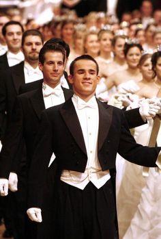 Wiener Opera Ball dance opener.  White Tie most Formal of all dress codes